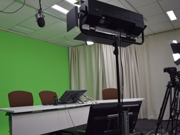Webcast tech assistance and specialized studios